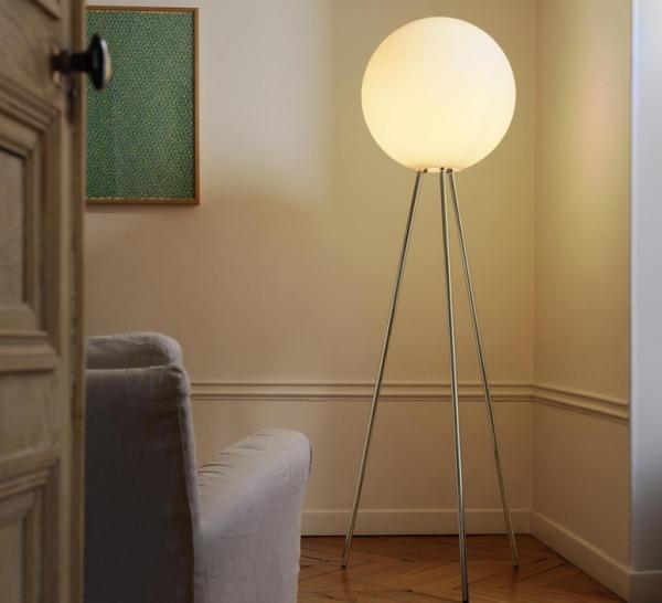 LAMPADAIRE, PRIMA SENORA, TRANSPARENT, H180CM - FONTANA ARTE