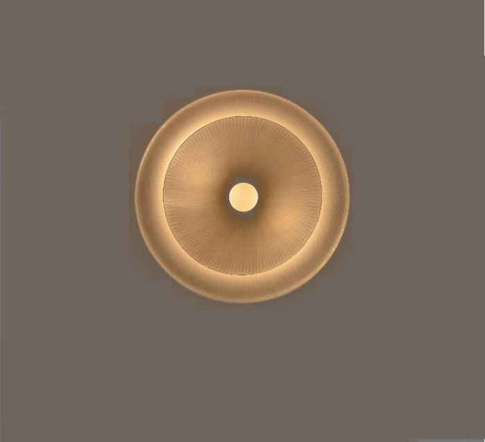APPLIQUE MURALE, DIVA, BLANC, Ø62CM - CELINE-WRIGHT