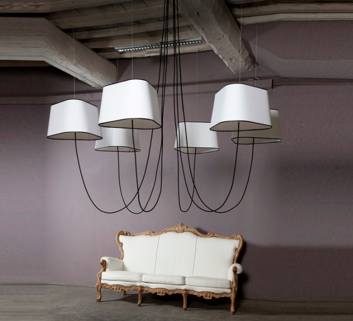 Plafonnier lustre ou suspension il faut choisir - Grand lustre industriel ...