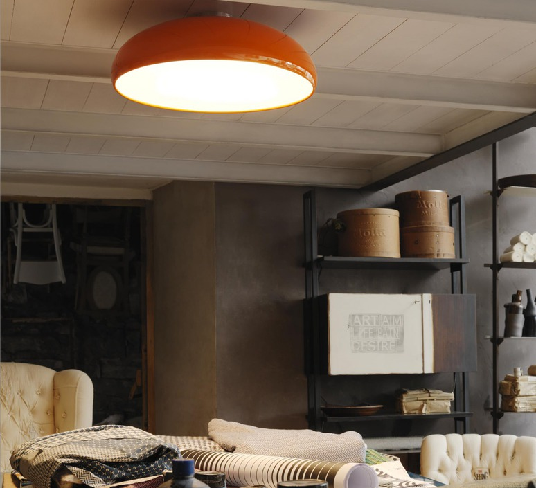 luminaire plafond rampant ventilateur de plafond qup d. Black Bedroom Furniture Sets. Home Design Ideas