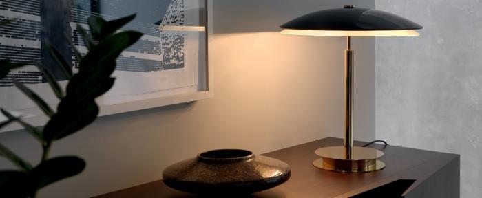 LAMPE À POSER, BIS, NOIR BRILLANT, H43CM - FONTANA ARTE
