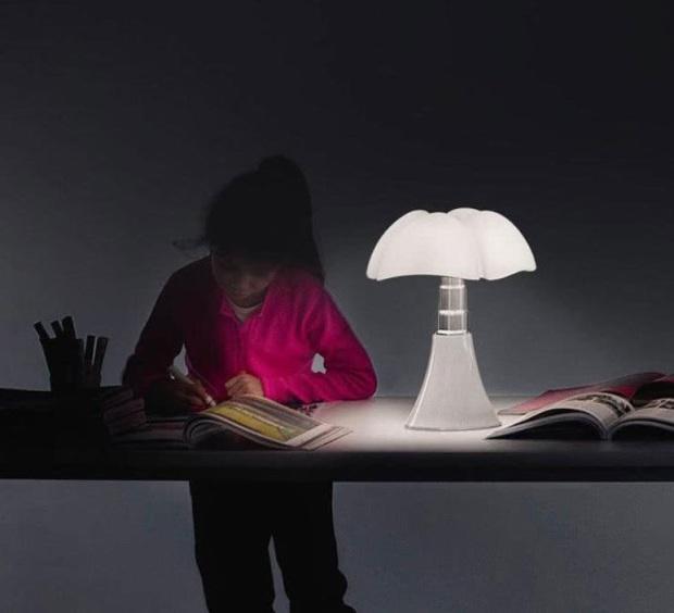 LAMPE À POSER, BALADEUSE, MINI PIPISTRELLO SANS FIL, BLANC, LED, Ø27CM, H35CM - MARTINELLI LUCE