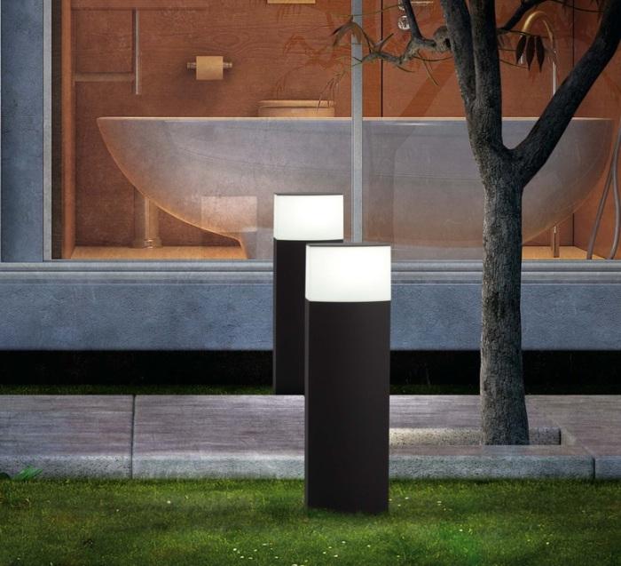 quelle borne lumineuse pour votre ext rieur. Black Bedroom Furniture Sets. Home Design Ideas