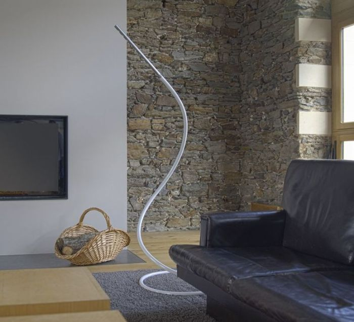 LAMPADAIRE, S7 ORIGIN, NATUREL, H220CM - STRUCTURES