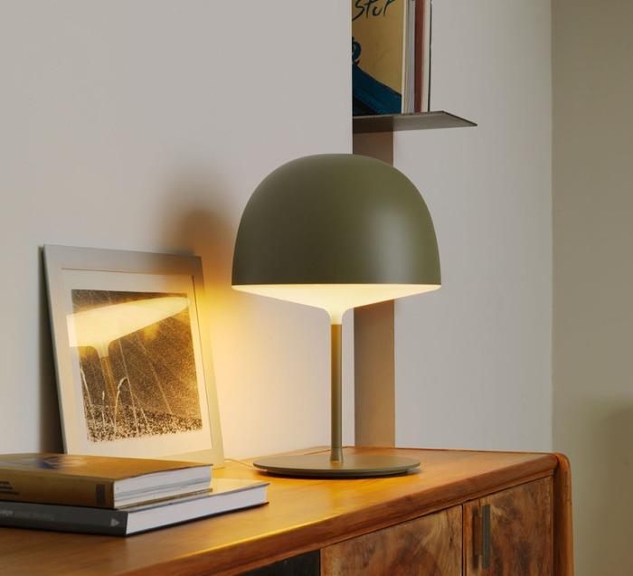 Lampe à poser, Cheshire, vert, H53cm - FontanaArte