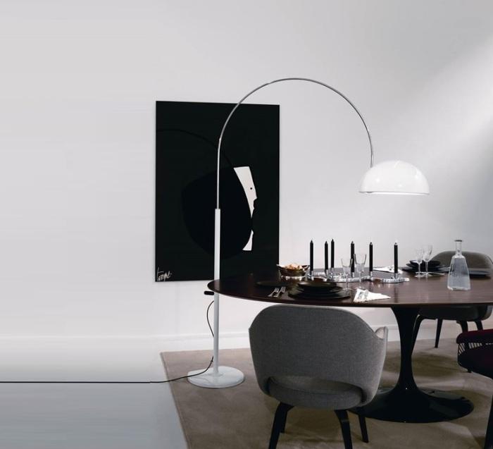 LAMPADAIRE, COUPÉ, BLANC, H190CM - OLUCE