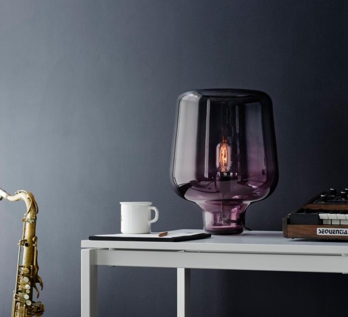 Lampe à poser, Say my name, violet, H42cm - Northern-Lighting
