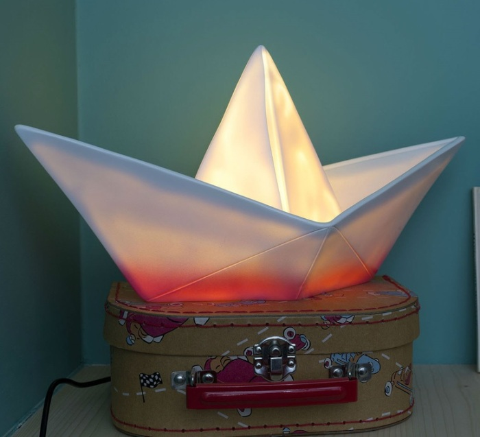 LAMPE ENFANT, VEILLEUSE, BATEAU, L32CM - GOODNIGHT LIGHT
