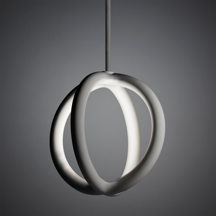 Des luminaires édités en impression 3D : collection Two.Parts de Christo Logan