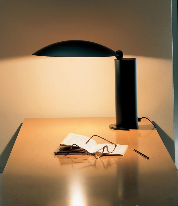 LAMPE À POSER, WASHINGTON LED, NOIR, H39CM - LUMEN CENTER ITALIA
