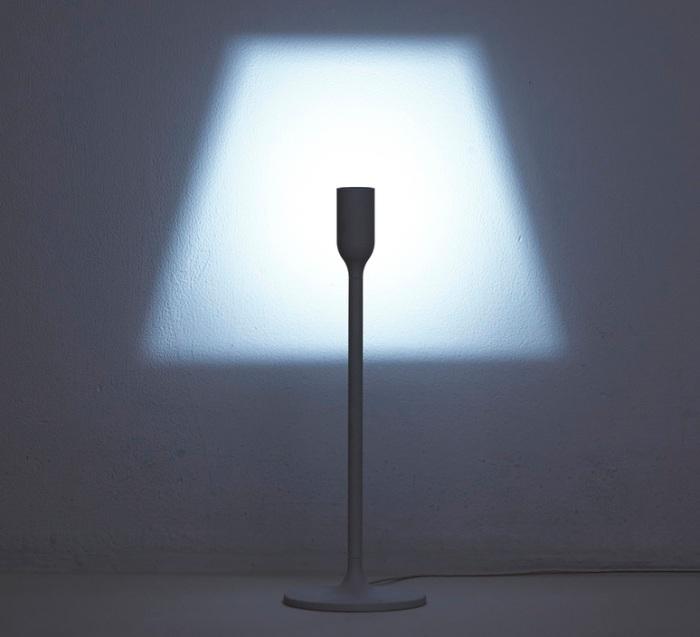 LAMPE À POSER, YOYLIGHT, BLANC, H35CM - INNERMOST