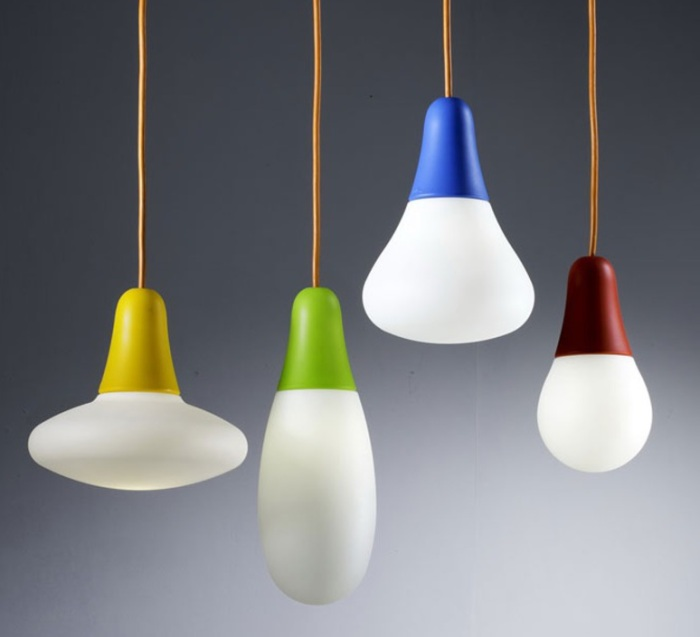 SUSPENSION, CIULIFRULI, BLANC, H31CM - MARTINELLI-LUCE