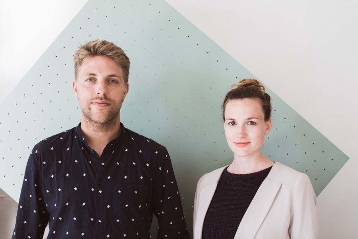 Les designers de Schneid : Julia Mulling et Niklas Jessen
