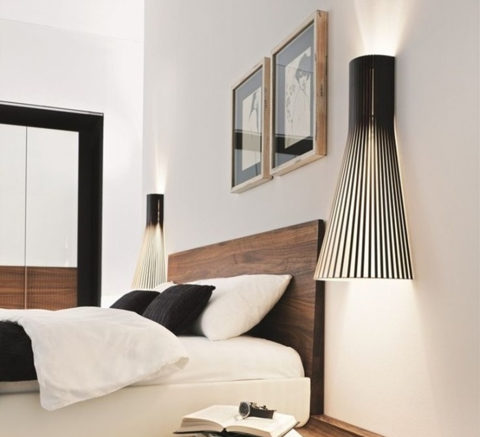 les appliques murales scandinaves la tendance design du moment. Black Bedroom Furniture Sets. Home Design Ideas