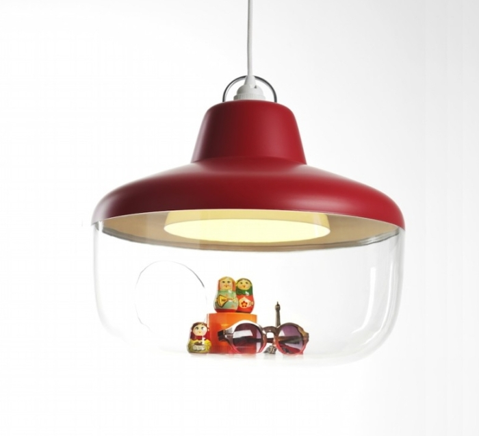 Suspension, Favourite Things, framboise, Ø45cm - eno studio