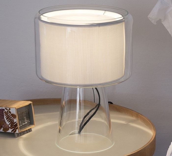 Lampe à poser, Mercer, blanc, H41cm - Marset