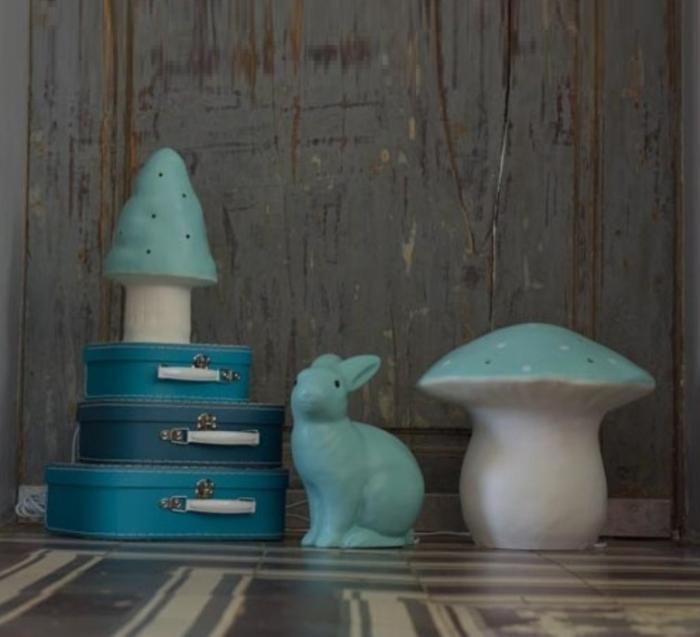 Lampe, veilleuse, Petit Champignon , vert, jade, H28cm - EGMONT TOYS
