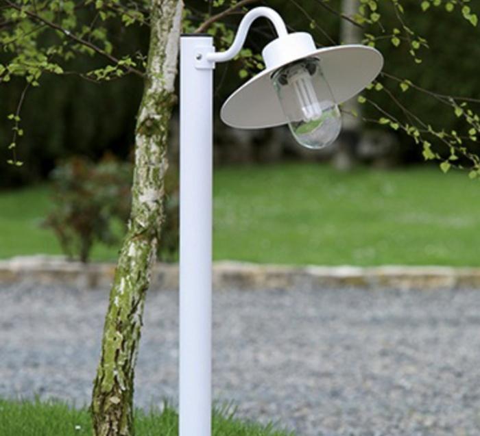 Borne, Belcour 3, blanc, H102cm, L32cm - Roger Pradier