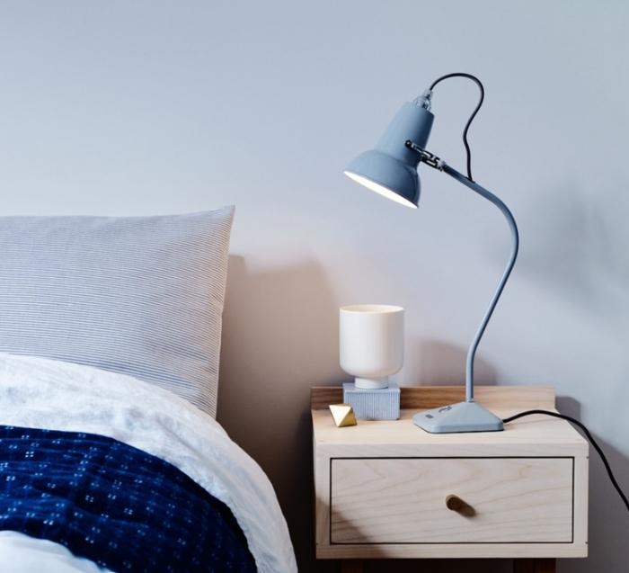 Lampe à poser, Original 1227 Mini, gris clair, H52cm - ANGLEPOISE