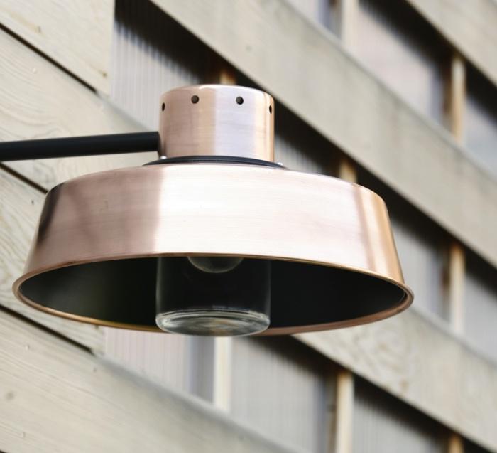 Pour une terrasse parfaitement d cor e essayez les for Applique murale exterieur cuivre