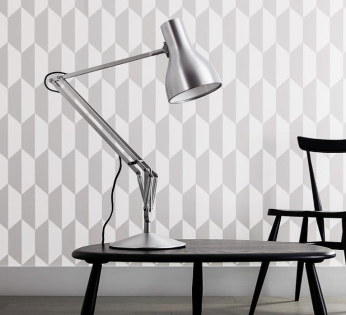 Lampe de bureau, Type 75, aluminium, H57cm - ANGLEPOISE