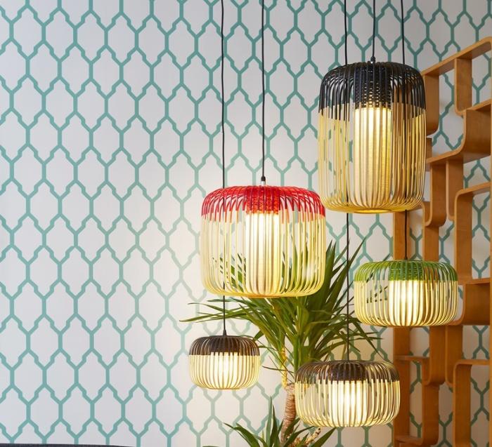 Des suspensions en bambou pour un intérieur au style naturel, frais et élégant!
