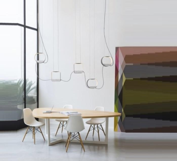 Un intérieur précieux et raffiné grâce aux luminaires en marbre !