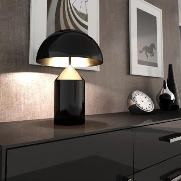 Lampe à poser, Atollo, noir, H70cm - Oluce