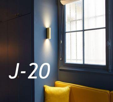 J-20 : La graphique et chaleureuse applique murale Hexo