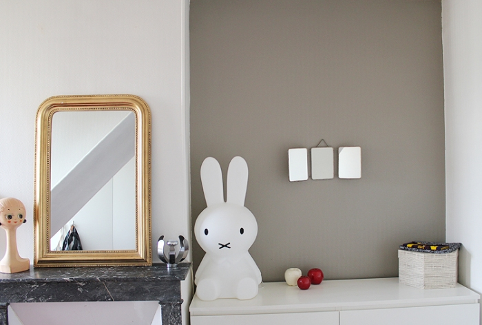Lampe Lapin, enfants, Miffy Original, blanc, H50cm - Mr Maria