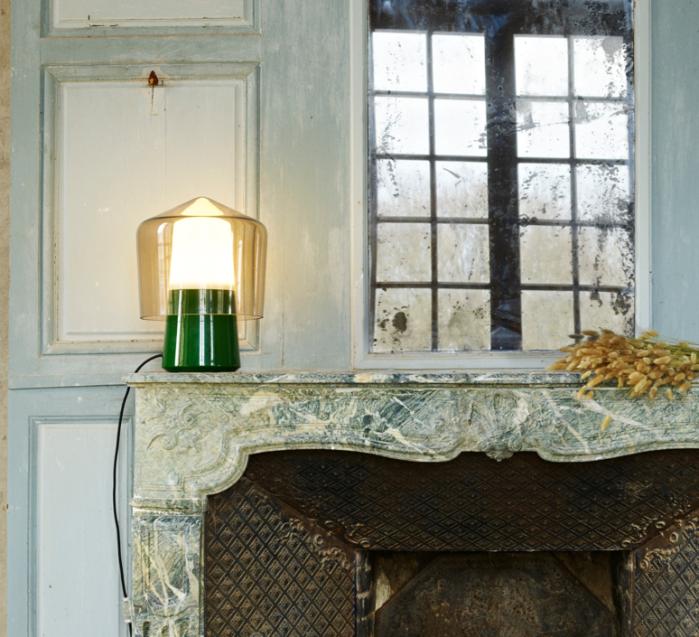 Des luminaires vert foncés pour une décoration chic et tendance !