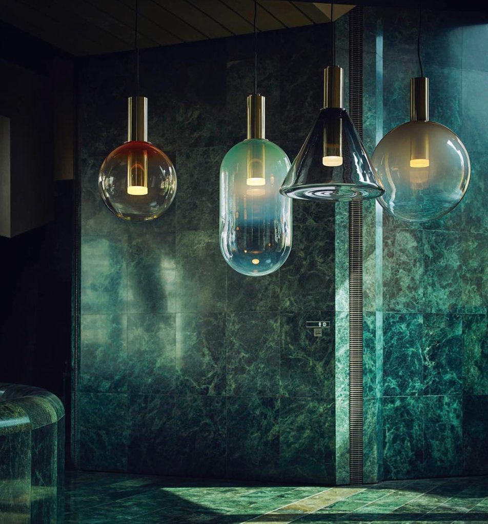 Interesting Luminaire En Verre Suspension With Luminaire En Verre Suspension
