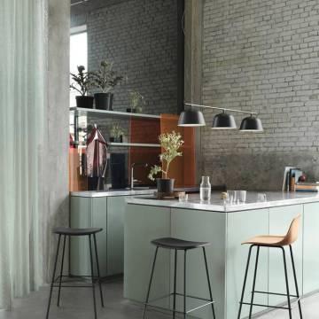 Conseil déco : éclairer une cuisine avec des luminaires design !