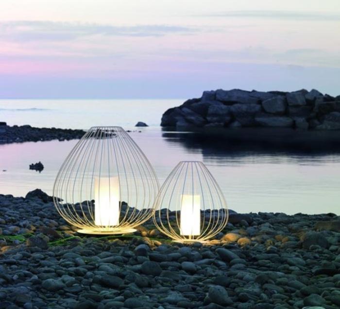 Chics et bohèmes, les lanternes lumineuses éclairent aussi bien qu'elles décorent!