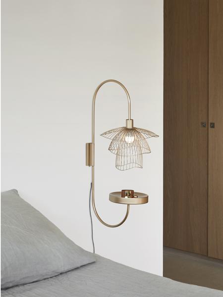 Une idée lumineuse, la lampe vide-poche