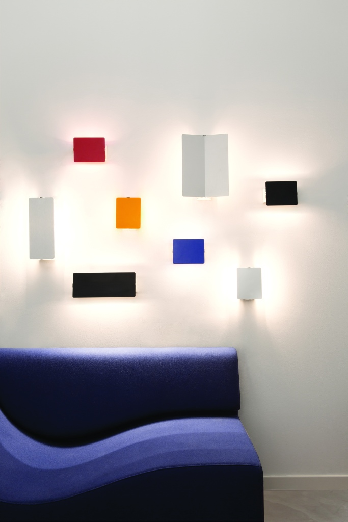APPLIQUE MURALE, VOLET PIVOTANT - NEMO LIGHTING