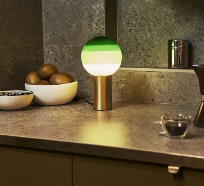 LAMPE À POSER, DIPPING LIGHT, VERT, LED, Ø12,5CM, H22,2CM - MARSET