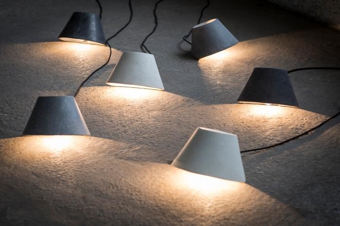 LAMPE À POSER, EAUNOPHE S, BLANC, LED, Ø22CM, H15CM - SERAX
