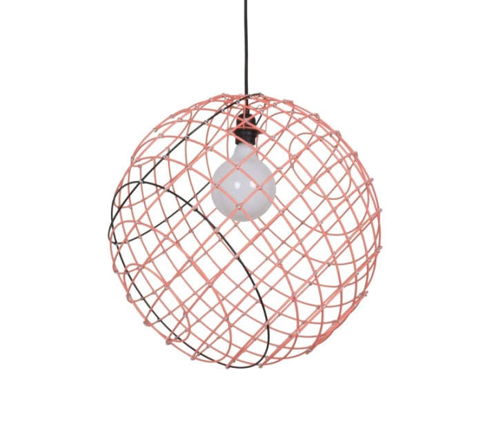 SUSPENSION, SPHERE METAL XL, ORANGE, 50CM, CM - FORESTIER