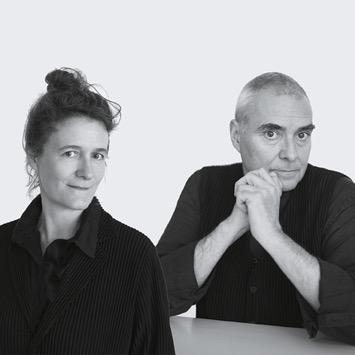 Dominique Perrault et Gaëlle Lauriot-Prévost