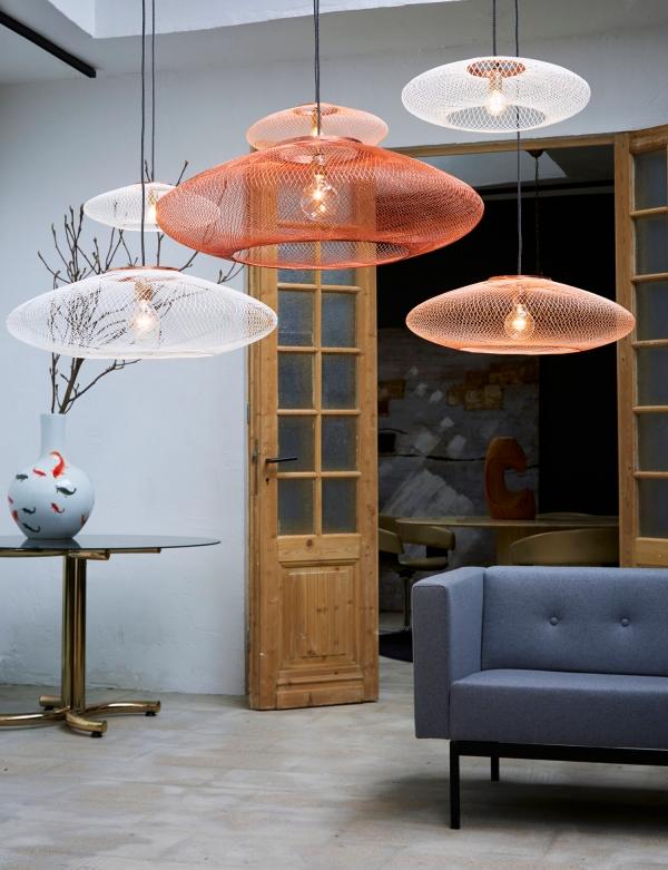Suspension UFO, Atelier Robotiq