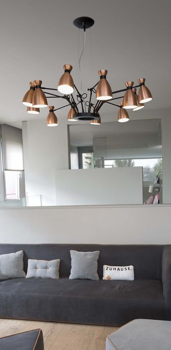 Les lustres grande taille, ou les luminaires extravagants pour sublimer un intérieur !