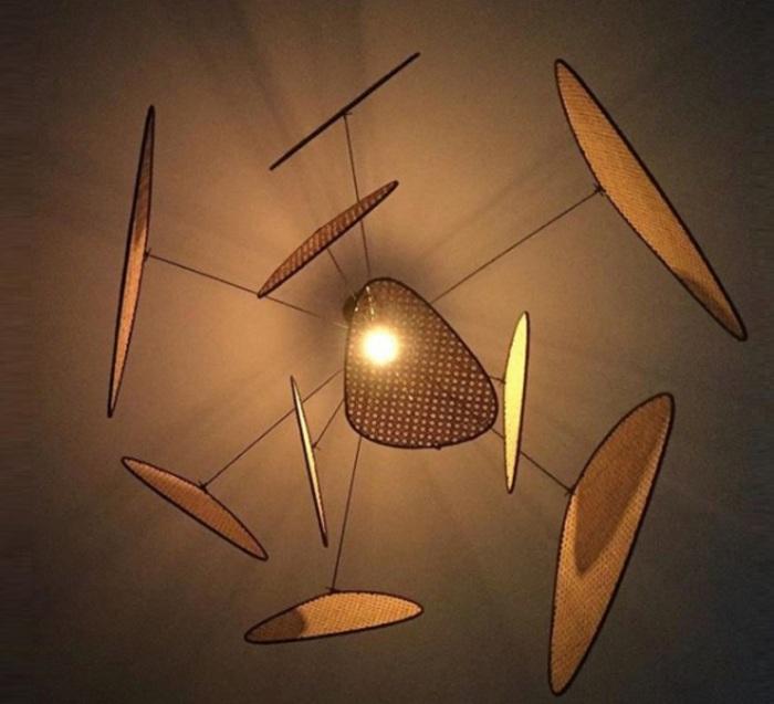 Un style art déco graphique, design et naturel : le cannage