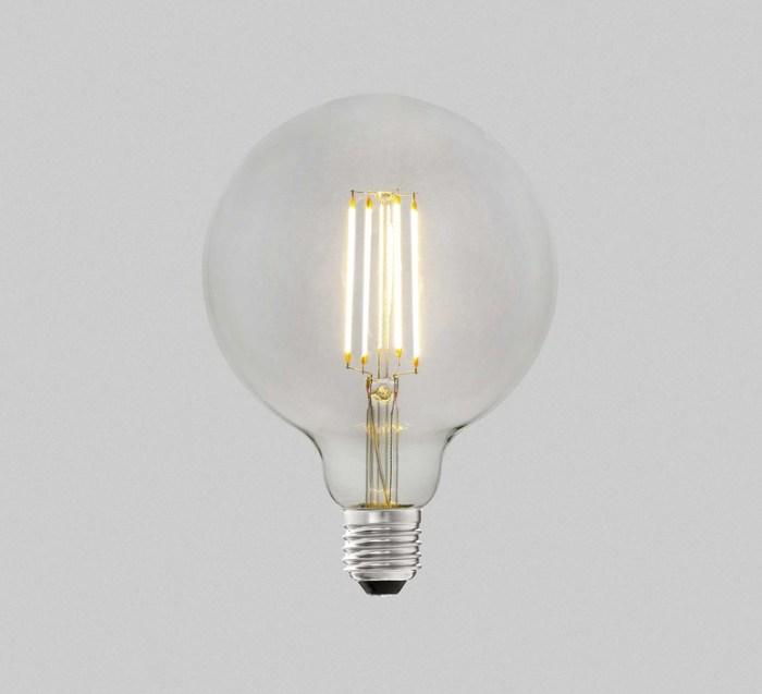 AMPOULE, E27, FILAMANT, LED, 4W, 2700K, 470LM, Ø9,5CM, H13,8CM