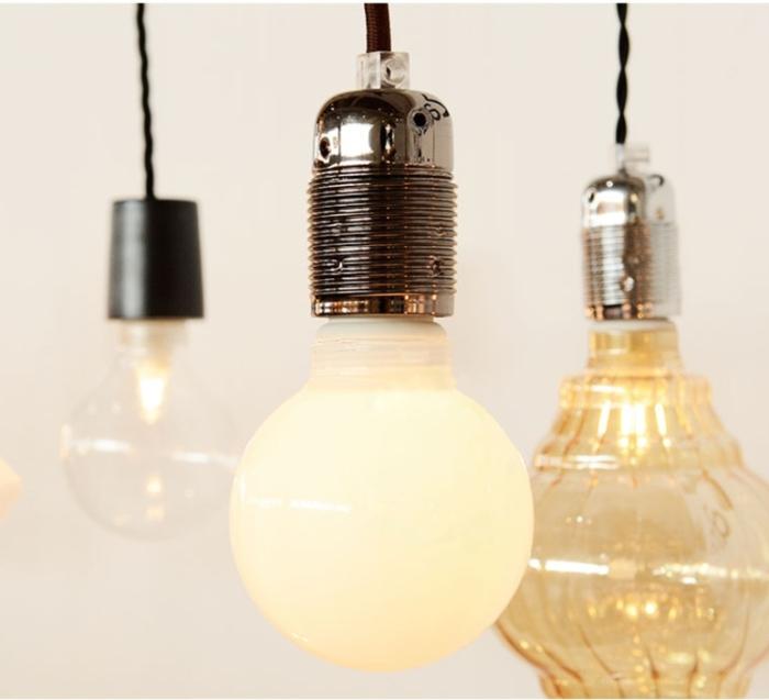 AMPOULE LED, AMPOULE OPALE, , LED, Ø8CM, H12CM - ZANGRA