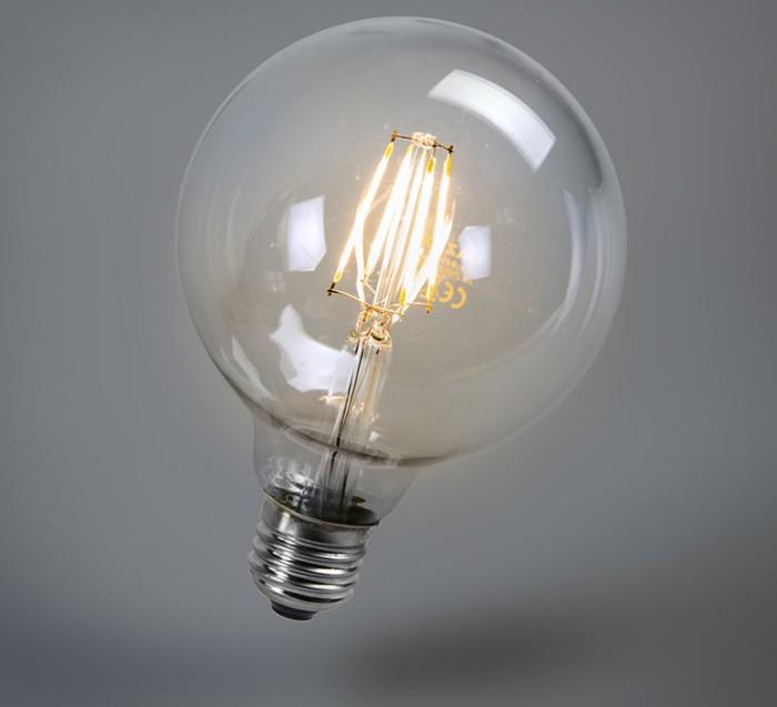 AMPOULES LED, 4W 2700K 470LM, GLOBO FILAMENT, Ø12,5CM - FARO