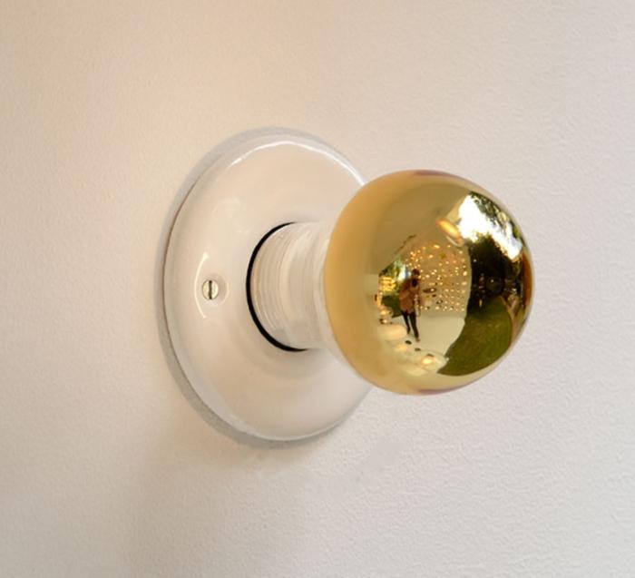 AMPOULE LED, MIROIR CAPUCHON, BLANC, OR, LED, 2200K, 200LM, Ø6CM, H11,2CM - ZANGRA