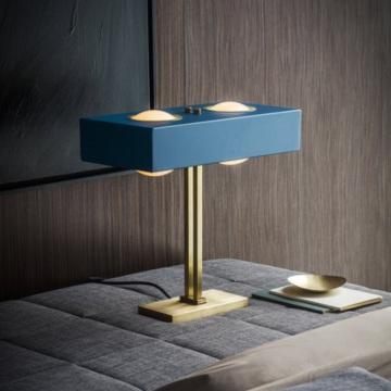 LAMPE À POSER, KERNEL, BLEU, LED, L40CM, H20CM - BERT FRANK