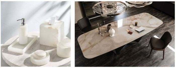 Des luminaires en pierre : une tendance au cœur des stries de l'albâtre…
