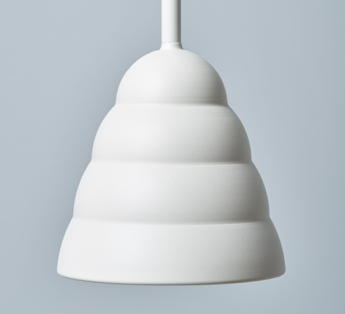 SUSPENSION, FIGURA STREAM, BLANC, Ø16,5CM, H45CM - SCHNEID